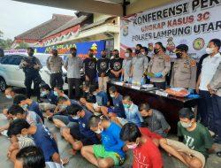 Aksi Kejahatan, 22 Orang Di Tahan Polisi