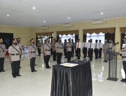 Kapolresta Cirebon Pimpin Sertijab Kasat dan Kapolsek Jajaran