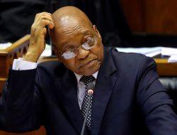Mantan Presiden Afrika Selatan Jacob Zuma telah dijatuhi hukuman penjara