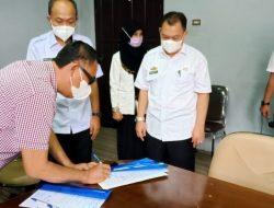 Serah Terima Jabatan Sekertaris Dewan Lampung Utara.