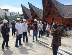 Bupati Bersama Wakil Bupati Samosir Monitoring Proyek Penataan Kampung Ulos Huta Raja dan Huta Siallagan DPSP Danau Toba