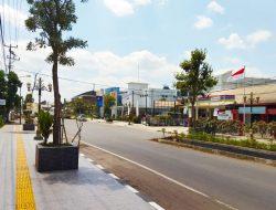 Bukit Asam Bangun Pedestrian Percantik Tanjung Enim