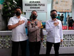 Mahasiswa Papua Semarang Sampaikan Ucapan Terima Kasih Atas Bantuan Alumni Akpol 91