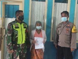 Masyarakat Desa Mulyasari Menerima Bantuan Sosial
