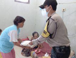 Polsek Kapetakan, Polres Ciko berbagi Kasih di tengah PPKM Darurat