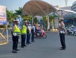 Lengkap Gabungan Personil Pos Pemberlakuan Ganjil Genap di Kejaksan wilkum Polres Cirebon Kota