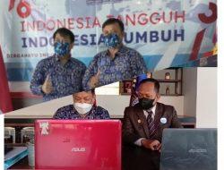Rapat Resmi Partai UKM Bersama Dirjen AHU Kemenkumham Diapresiasi Waketum bidang keamanan Dr. H. Ade Saputra, SH MH