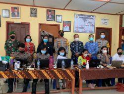 Ketua DPRD Samosir mengikuti acara zoom meeting perihal Pelaksanaan Vaksinasi massal