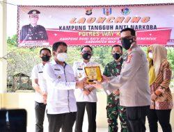 Pemda kabupaten Way Kanan.Bupati H. Raden Adipati Surya SH,MM Dukung Upaya Kepolisian Putus Peredaran Narkoba