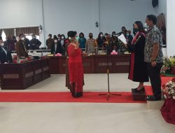 Pengucapan Sumpah Janji Pengganti Ketua DPRD Kabupaten Samosir