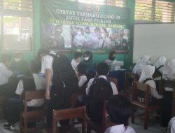 Gebyar Vaksinasi Tahap Ke-2 SMPN 1 Baleendah Bandung
