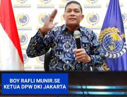 Boy Rafli Munir Bertekad Bawa Partai UKM DPW DKI Jakarta Jadi Terdepan!