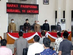 Aula PMII Kel Karyamulya Kec Kesambi jadi saksi bansos Kasat lantas Polres Ciko