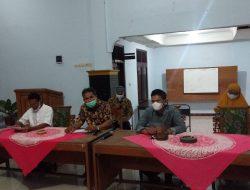 Desa Keleng gelar rapat kerja panitia pengisian perangkat desa