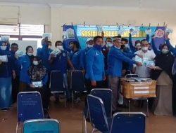 Karang Taruna Aceh Utara Bagikan 1.270 Vitamin Untuk Masyarakat Terimbas Covid