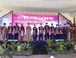 Bupati Dewi Handajani Ikuti Muswil APKASI Lampung Ke IV