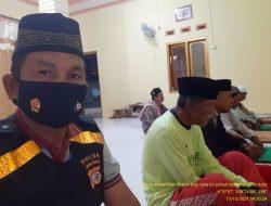 Tingkatkan Imtaq serta himbau 5M ,Bhabin Polsek Kapetakan melalui Sholat subuh Berjamaah dengan